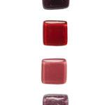 Gałki meblowe szklane - czerwone i różowe - DOT manufacture
