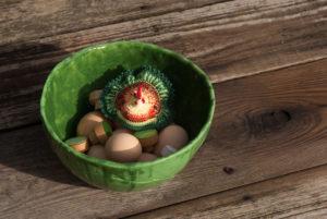 Wiosenny stroik - DOT manufacture - zielony