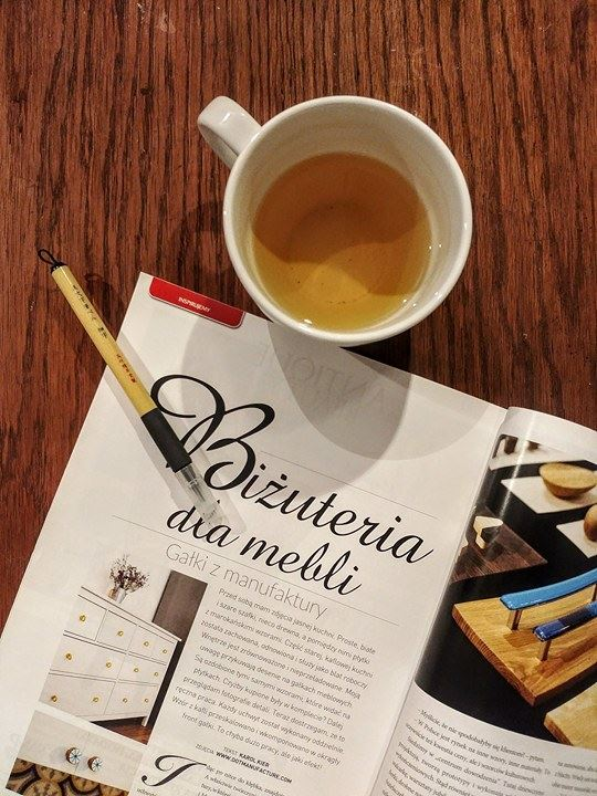 Artykuł o gałkach do mebli DOTmanufacture jest świetną lekturą do herbaty | DOTmanufature