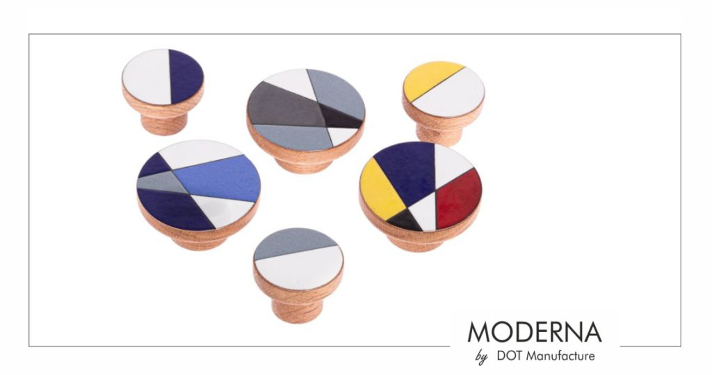 Uchwyty do mebli MODERNA - furniture handles by DOT Manufacture