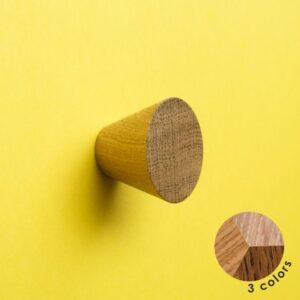 Stożkowa gałka meblowa SIMPLE CONE o średnicy 4 cm | DOT Manufacture