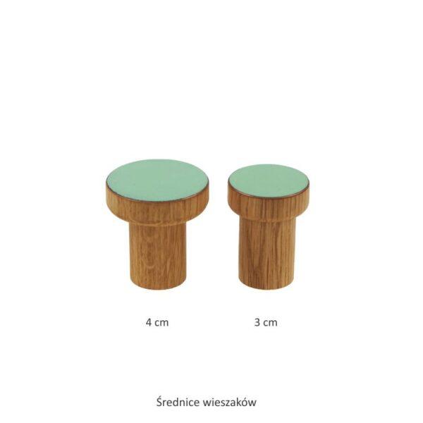 Wieszaki SIMPLE emaliowane 3 i 4 cm