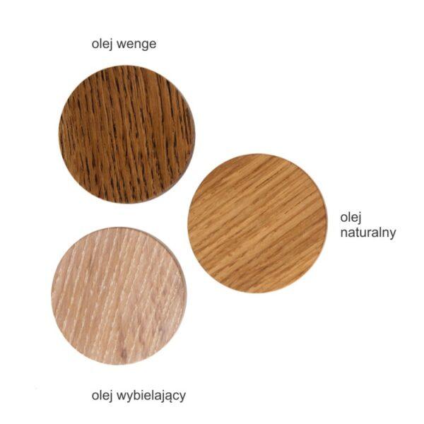 Kolory olejów dlagałek i uchwytów meblowych z linii BASIC - DOT Manufacture