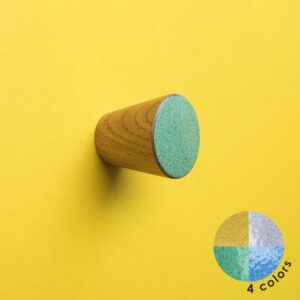 Pastelowe gałki do mebli 3 cm na bazie drewna - MELANGE - DOT Manufacture