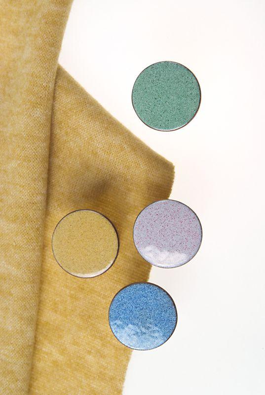 Kolorowe gałki do mebli - MELANGE - DOT Manufacture